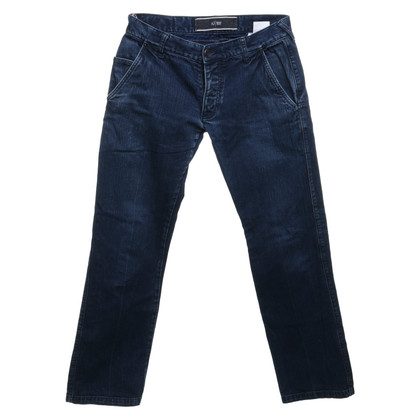 Armani Jeans Jeans in donkerblauw