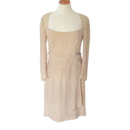 Prada Silk dress with polka dots