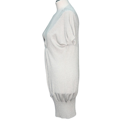 Karen Millen Knit dress in silver