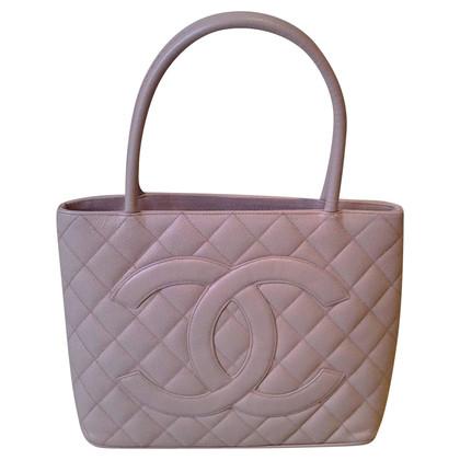"""Chanel """"Tote medaglione"""" in rosato"""