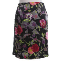 Christian Lacroix skirt with a floral pattern
