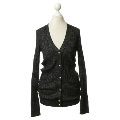 Marc by Marc Jacobs Strickjacke mit Metallic-Elementen