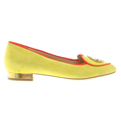 Charlotte Olympia Ballerinas with application