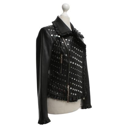 Andere Marke Mangano - Jacke mit Nietenbesatz