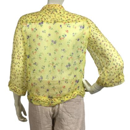Max & Co Camicetta di seta con motivo floreale