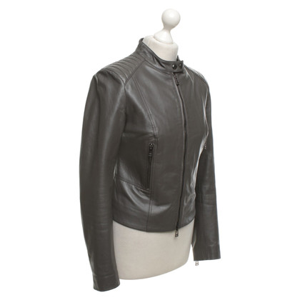 Belstaff Leather jacket in grey