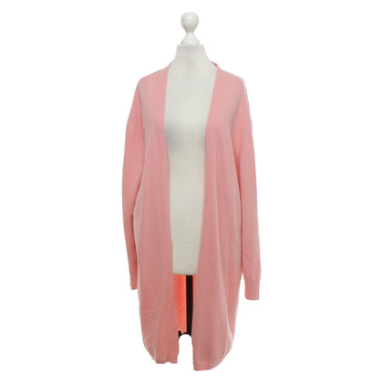 Camouflage Couture Knit coat in pink