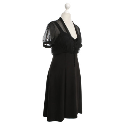 John Galliano Cocktail dress in black