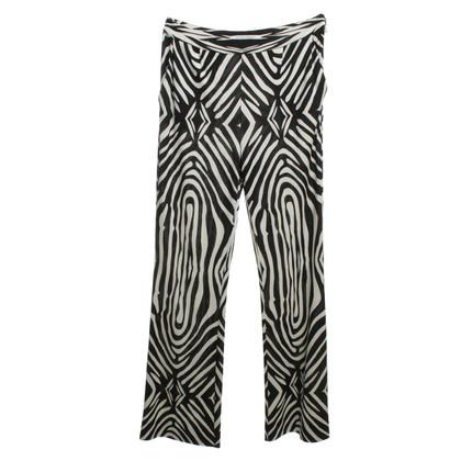 Diane von Furstenberg Silk pants with pattern