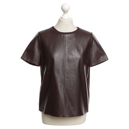 Max Mara Shirt with leather