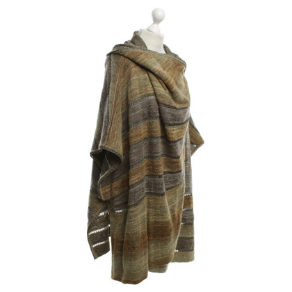 Missoni Poncho with ribbons