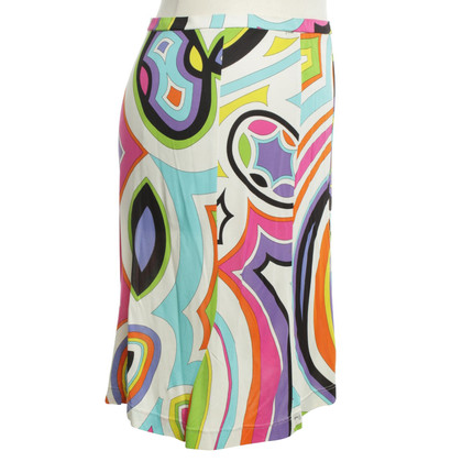 Emilio Pucci skirt with pattern