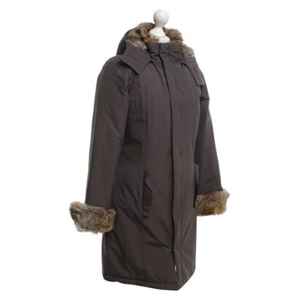 Woolrich Coat with fur trim