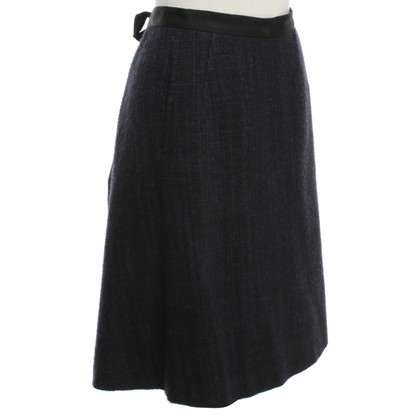 Wunderkind Wrap-around skirt with Tweed
