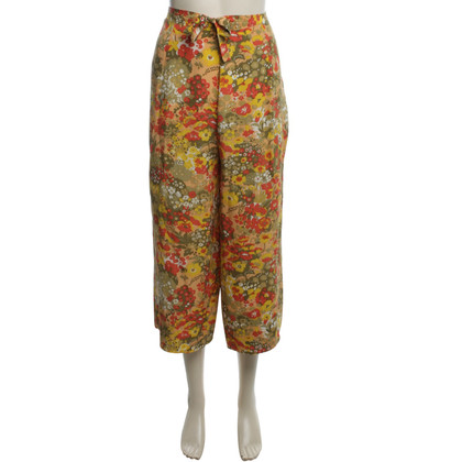 Christian Dior Short trousers with floral pattern