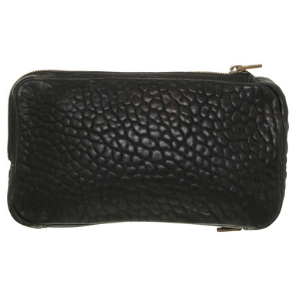 Alexander Wang clutch in nero