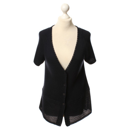 Rena Lange Bolero jacket in dark blue