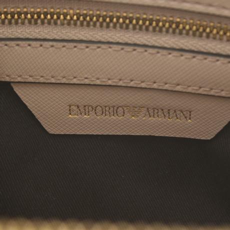 Günstig Kaufen Shop Armani Umhängetasche in Beige Beige Freies Verschiffen 100% Garantiert Blick Zu Verkaufen MaUqMOs
