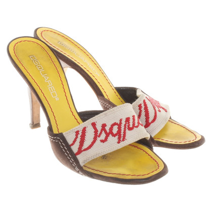 Dsquared2 Sandali in pelle
