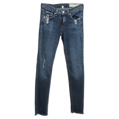 Rag & Bone Jeans in Blauw