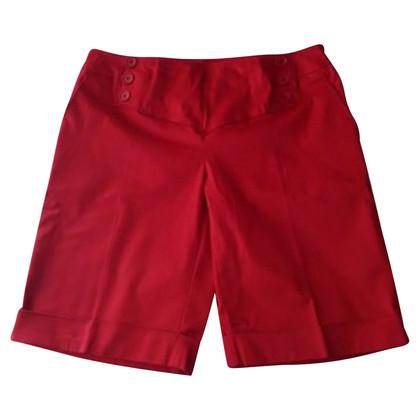 Marina Rinaldi Red cotton shorts