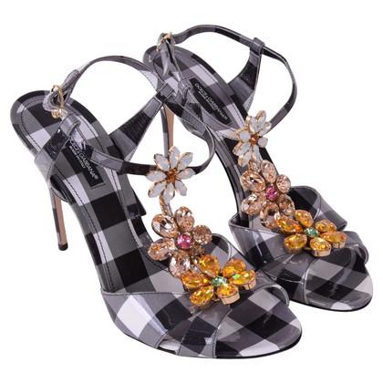 Dolce & Gabbana Sandaletten mit Strass