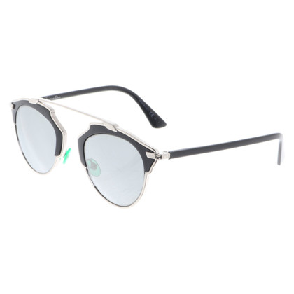 Christian Dior Glasses in black / silver