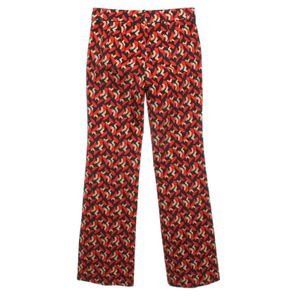 L'autre Chose trousers with pattern print
