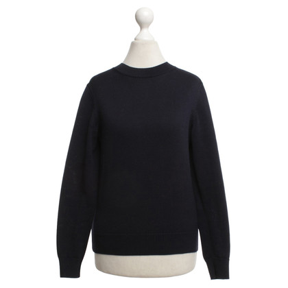 Cos Knit sweater in dark blue