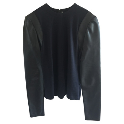 Balenciaga Leather top