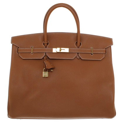 "Hermès ""Birkin Bag 40"" in brown"