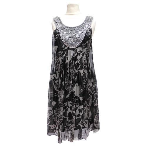 Sue Wong Silk Dress With Rhinestone