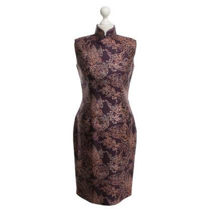 Other Designer Shanghai Tang - silk dress with pattern