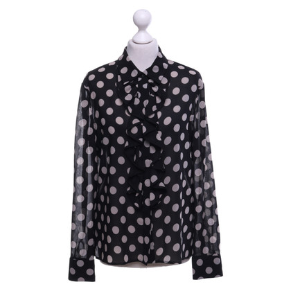 Hobbs Blouse with dot pattern