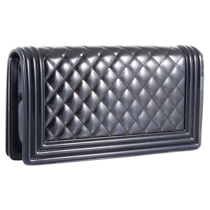 """Chanel """"Boy clutch"""" Patent Leather"""