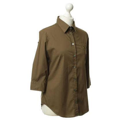 Burberry Blusa in oliva