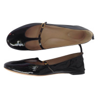 Chloé Mary Janes in black patent leather