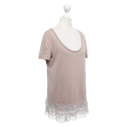 Marc Cain T-shirt with ruffles