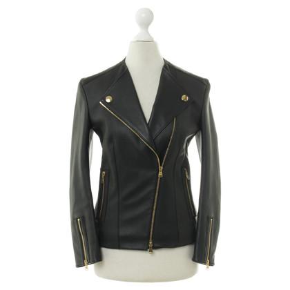 Louis Vuitton Black leather jacket