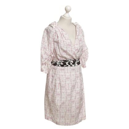 Schumacher Kleid mit Muster-Mix