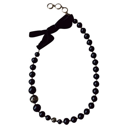 Christian Dior Black necklace