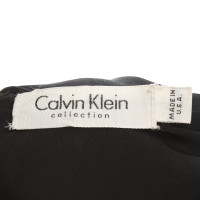 Calvin Klein Satinkleid in black
