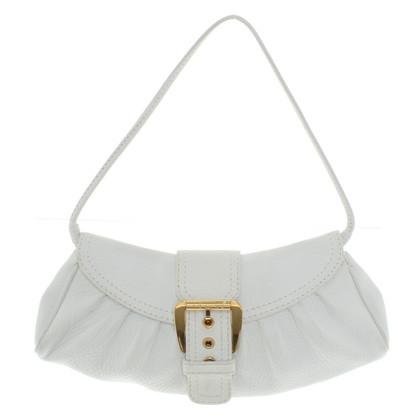 Céline clutch in white