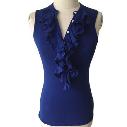 Ralph Lauren Top in Blau