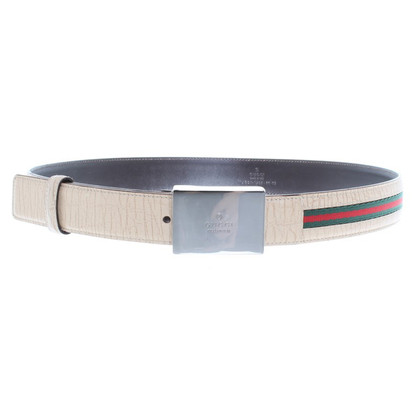 Gucci Belt with Grosgrain Ribbon stripe