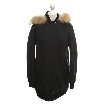 Maje Winter jacket in dark blue