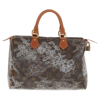 "Louis Vuitton ""Speedy 30 Monogram Dentelle"""