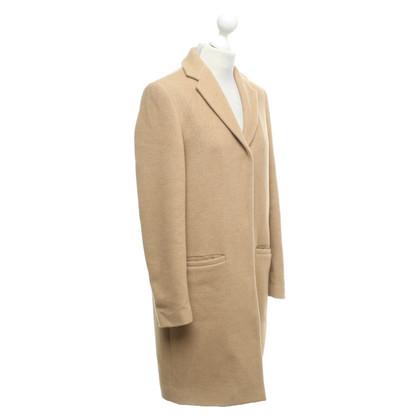 MSGM Coat in Camel