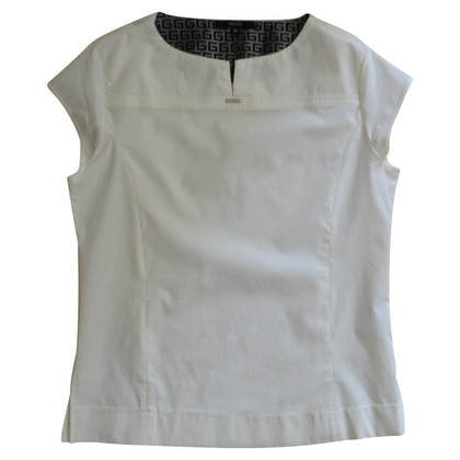 Gucci White shift blouse
