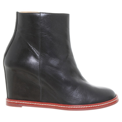 Maison Martin Margiela Wedge ankle boots in black